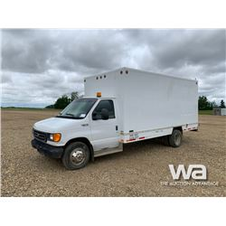 2005 FORD E450 S/A WASH TRUCK