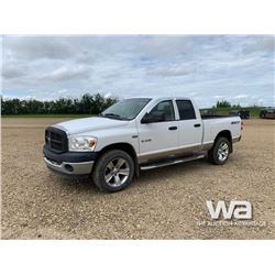 2008 DODGE RAM 1500 QUAD CAB PICKUP