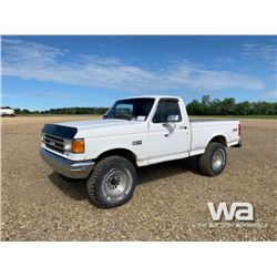1980 FORD F150 SINGLE CAB PICKUP