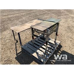 """56"""" X 21"""" ROLLING TABLE"""