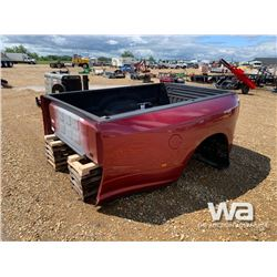 2014 DODGE DUALLY 8 FT. TRUCK BOX
