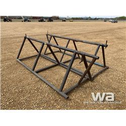 (2) 12 FT. PIPE STANDS