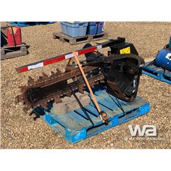 2014 DITCH WITCH TRENCHER