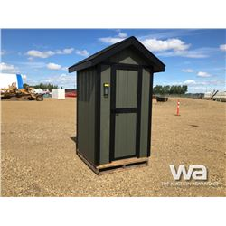 4 X 4 FT. CUSTOM OUTHOUSE
