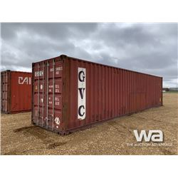 2007 8 X 40 FT. SHIPPING CONTAINER