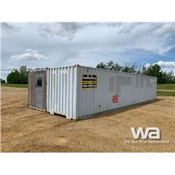 1995 16 X 40 FT. SHIPPING CONTAINER SHOP