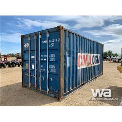 2004 8 X 20 FT. SHIPPING CONTAINER