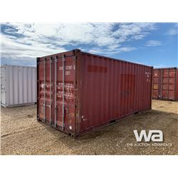 2007 8 X 20 FT. SHIPPING CONTAINER