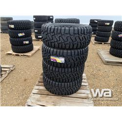 (UNUSED) (4) GRIZZLY 33X12.50R22LT TIRES