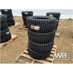 (UNUSED) (4) GRIZZLY 33X12.50R20LT TIRES