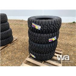 (UNUSED) (4) GRIZZLY 35X12.50R20LT TIRES