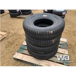 (UNUSED) (4) GRIZZLY ST235/85R16 TIRES