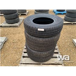 (4) GOODYEAR P225/75R16 TIRES