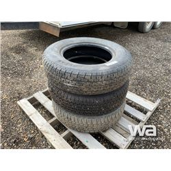(3) GOODYEAR ST205/75R15 TRAILER TIRES