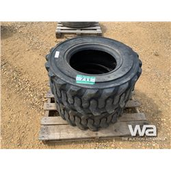 (2) ANJIE 12-16.5 SKID STEER TIRES