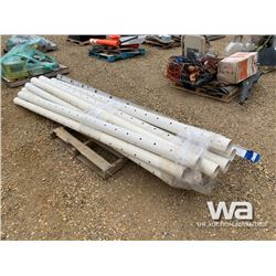 PVC WEEPING TILE PIPE
