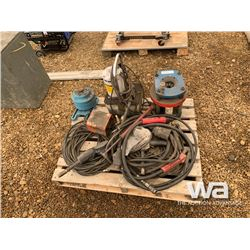 HYD. HOSE PRESS, WELDING CABLES