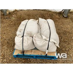 8 BAGS OF FESCUE-TIMOTHY GRASS SEED
