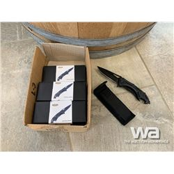 (6) UNUSED TACTICAL KNIVES