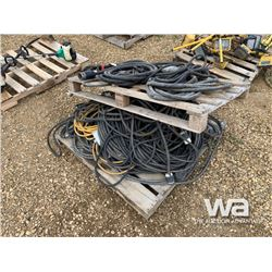 PALLET OF WELDING CABLE & CORDS