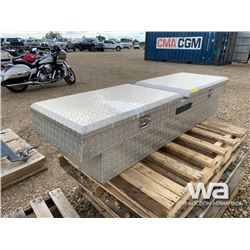 ALUMINUM TOOL BOX FOR PICKUP