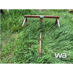 BALE SPEAR & MOWER FOR PARTS