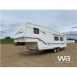 1997 SANDPIPER T/A 5TH WHEEL TRAVEL TRAILER