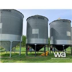 WESTEEL 6 RING X 14 FT. HOPPER BIN