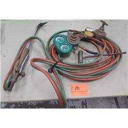 Victor Equipment Welding Acetylene Set w/ Gauges, Hoses, etc