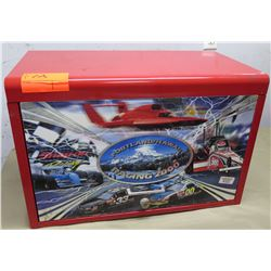 Portland/Hawaii Racing 2000 Red Metal 5 Drawer Locking Tool Box w/ Key