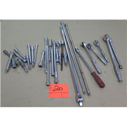Multiple Misc Size Snap On,  Mac Tools Ratchets & Extensions