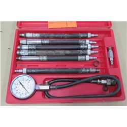 Snap On Tools Compression Gauge Set 308003 in Hard Case
