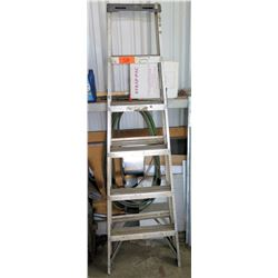 Aluminum 6 Step Ladder