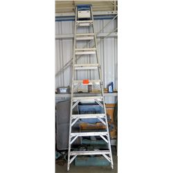 "Werner Craft Master Heavy Duty Industrial 10"" Step Ladder Model 310"