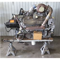 Rebuilt Pacific Detroit Diesel Engine w/ 700 Air Compressor on Jack Stands