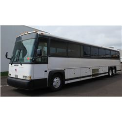 1995 MCI 102DL3 Coach 60-Passenger Bus, Diesel 60-Series, Allison B-500 Automatic Transmission