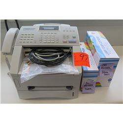 Brother Business Class Super G3 Intellifax 4100e Printer w/ Cables & Ink
