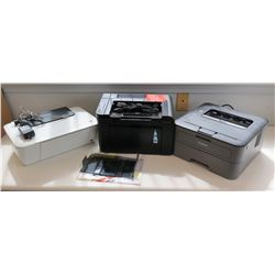 Qty 3 Office Machines:  Brother TN-630, HP Deskjet 1512 & HP LaserJet P1606
