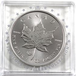 SCARCE 2018 Canada F15 Privy 1oz .9999 Fine Silver Maple Leaf in Original F15 Capsule (TAX Exempt).