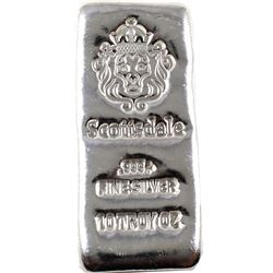 10oz Scottsdale .999 Fine Silver Bar (TAX Exempt).