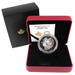 2019 Canada $30 Zentangle Art: The Bighorn Sheep Fine Silver Coin (TAX Exempt).