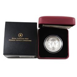 2014 Canada $25 Matriarch Moon Mask Fine Silver Coin (TAX Exempt).