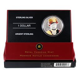 2007 Canada Thayendanegea Enamelled Proof Silver Dollar.