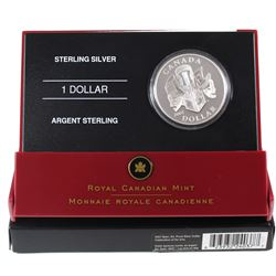 2007 Canada Celebration of the Arts Special Edition Proof Sterling Silver Dollar. Issued by the Roya