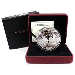 2013 Canada $50 HMS Shannon & USS Chesapeake 5oz Fine Silver Coin (TAX Exempt).