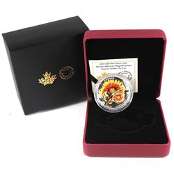 2017 Canada $20 Mother Nature's Magnification - Beauty Under The Sun Fine Silver Coin (TAX Exempt).