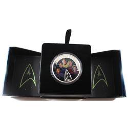 2017 Canada $30 Star Trek - Five Captains Fine Silver Coin (TAX Exempt).