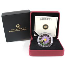 2012 Canada $20 Aster with Venetian Glass Bumble Bee Fine Silver Coin (TAX Exempt).
