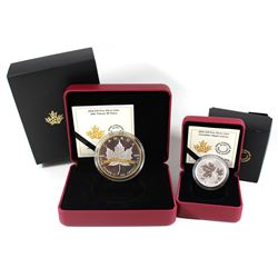 2016 Canada $10 Canadian Maple Leaves & 2018 $10 SML Tribute to 30 Years Fine Silver Coins (2016 sle