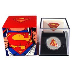 2013 Canada $20 Superman's Shield Fine Silver Coin (TAX Exempt).
